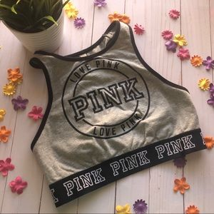 *LAST CHANCE* Pink By Victoria's Secret Crop,Small